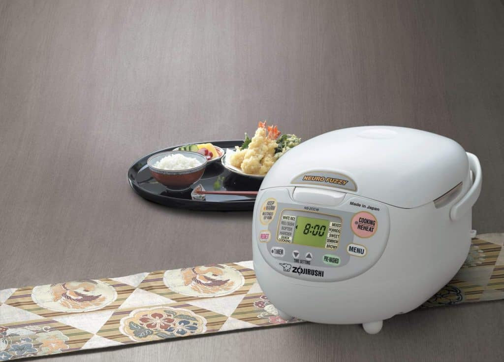 Zojirushi NS-ZCC18 10-cup Neuro Fuzzy Rice Cooker