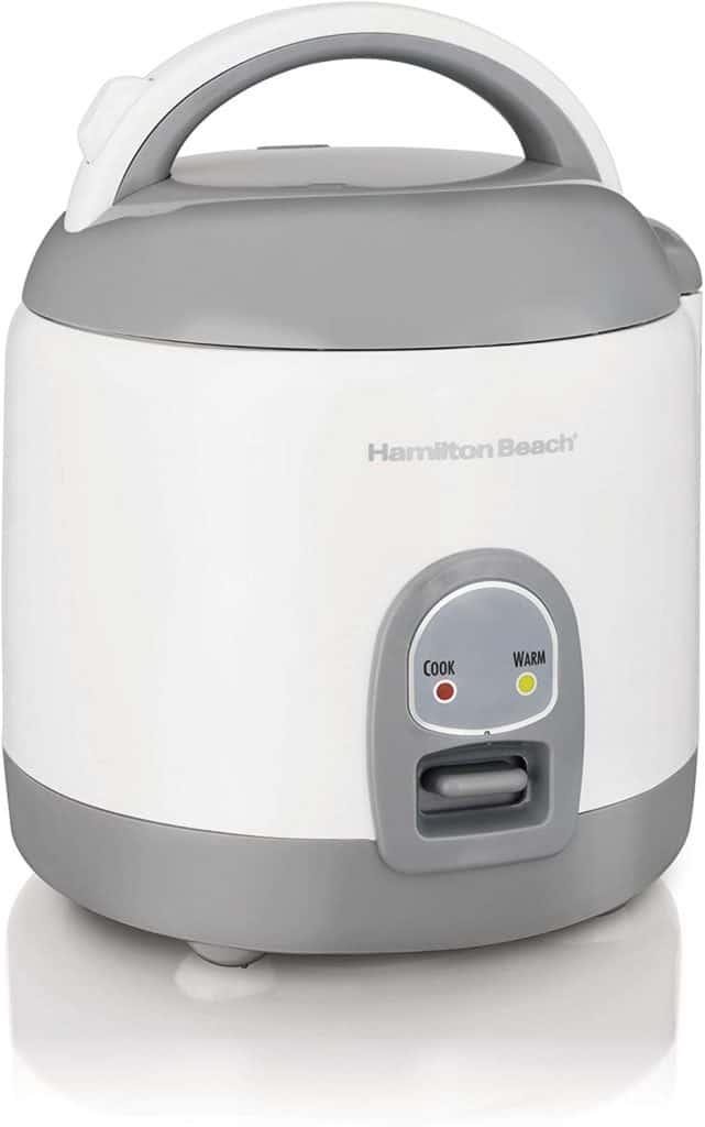 Hamilton Beach Mini Rice Cooker & Food Steamer 37508