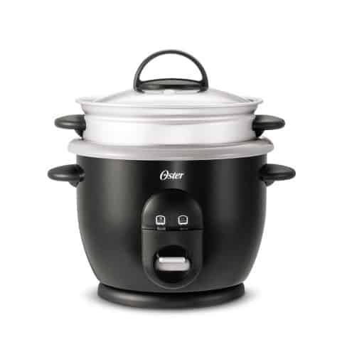 Oster® DuraCeramic™ Titanium Infused 6-Cup Rice and Grain Cooker with Steamer