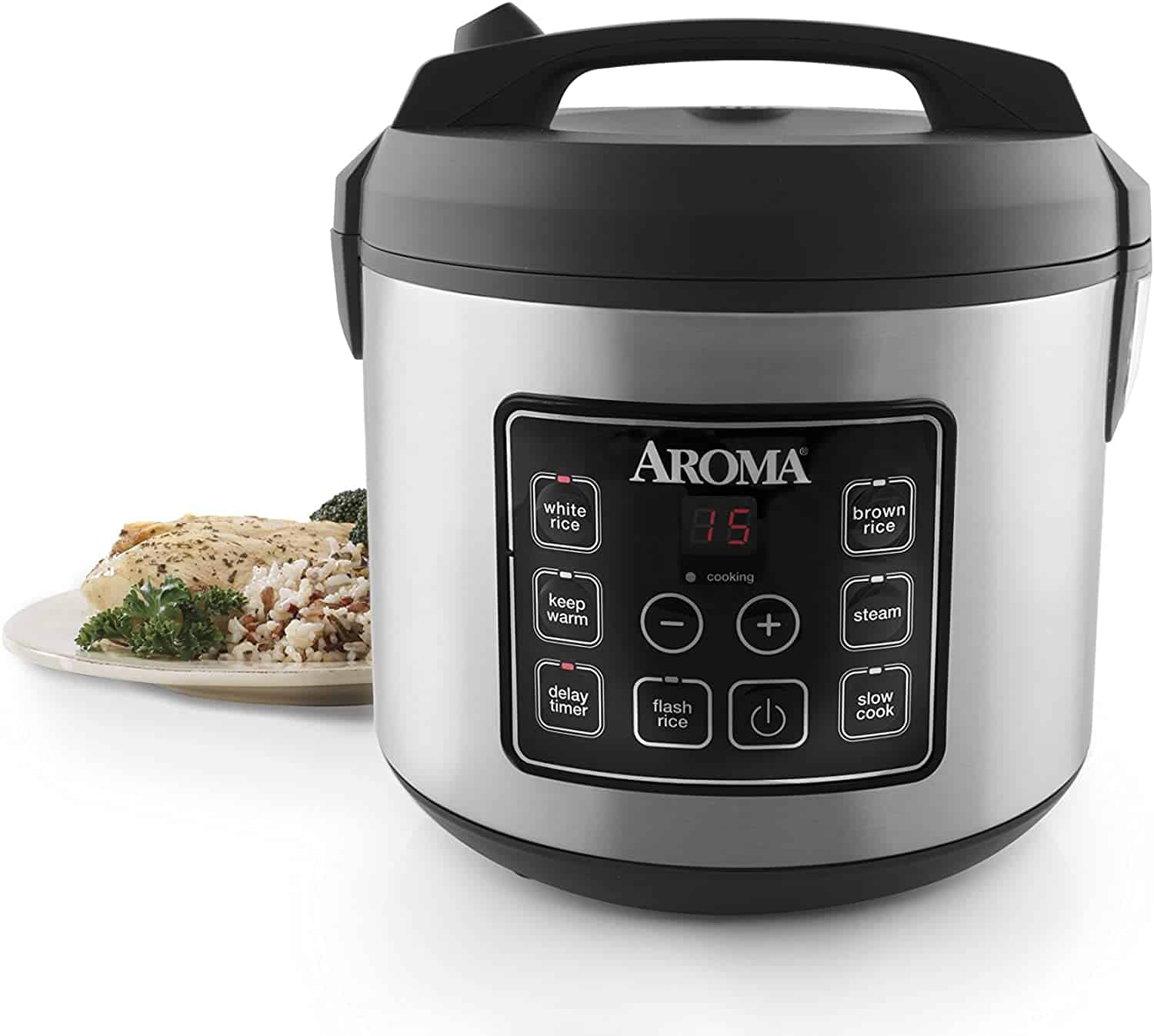 Aroma ARC-150SB 20-Cup Digital Rice Cooker Review