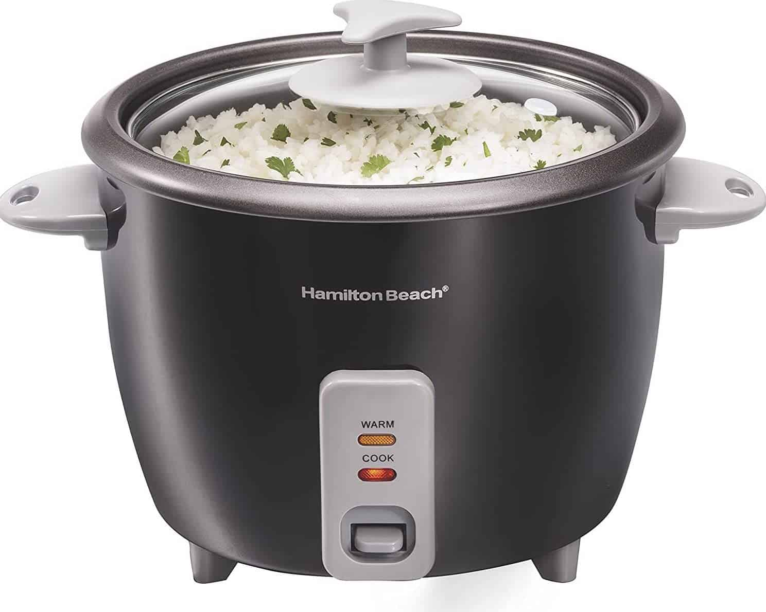 Hamilton Beach 16-Cup Rice Cooker & Food Steamer
