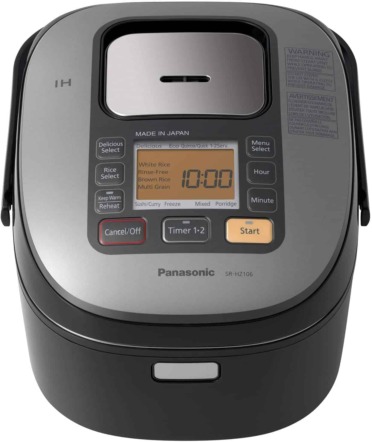 Panasonic SR-HZ106 Induction Heating Electronic Rice Cooker