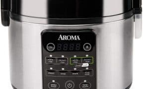 Aroma 12-Cup SmartCarb Rice Cooker & Multicooker ARC-1126SBL