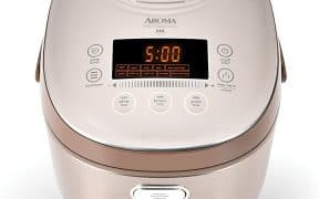 Aroma Professional 20-Cup Digital Turbo Convection Induction Heating Rice Cooker & Multicooker MTC-8010
