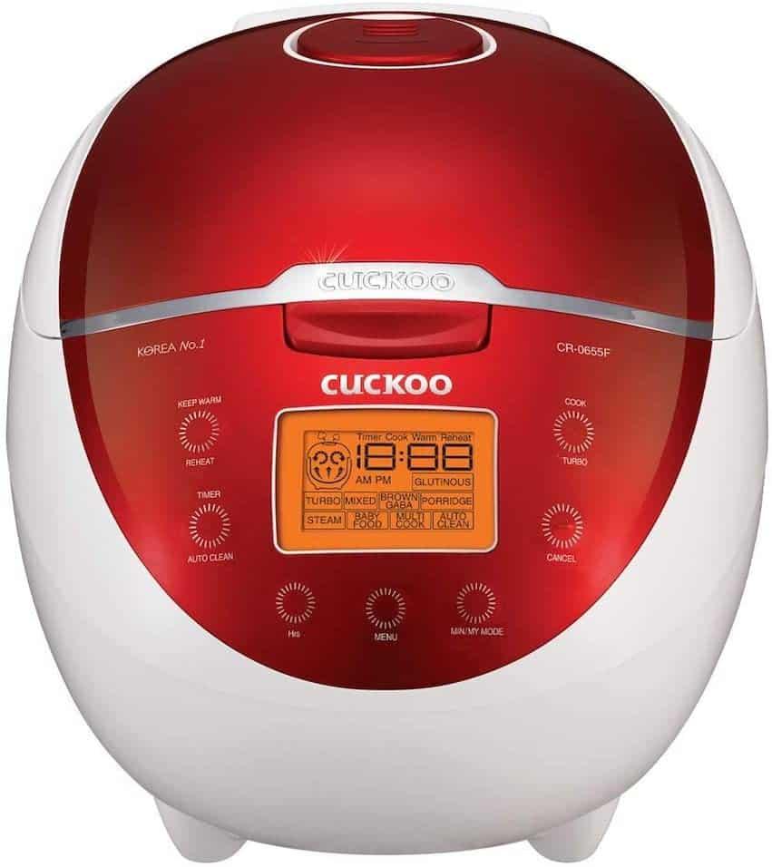 Cuckoo CR-0655F Rice Cooker & Warmer
