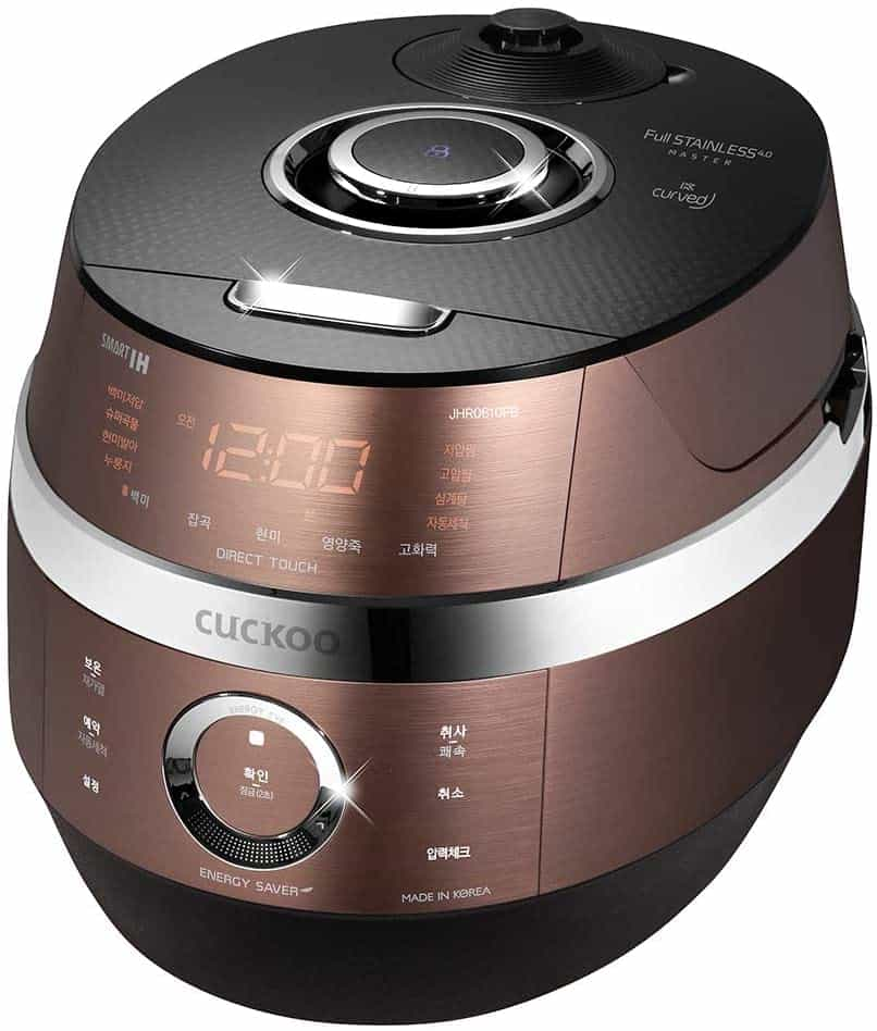 Cuckoo Multifunctional and Programmable Rice Cooker CRP-JHSR0609F_2