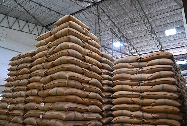 Iraqi Rice Purchases: Stack of Rice